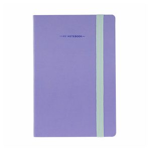Libreta Morada A5 My Notebook