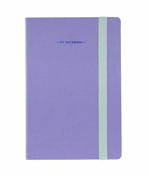 Libreta Morada A5 My Notebook