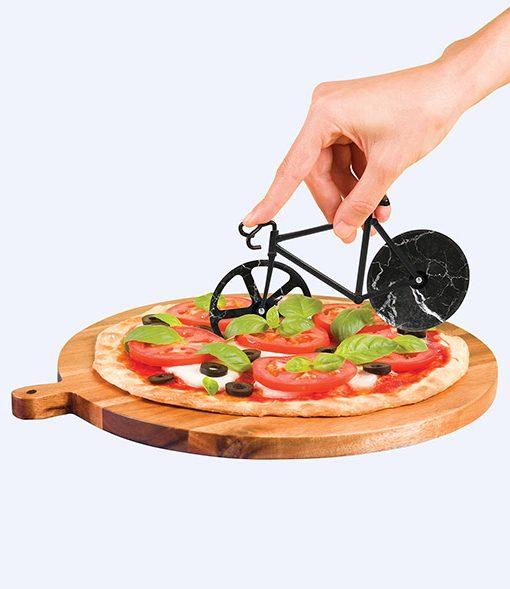 Cortador de Pizzas Cortapizzas Bicicleta Fixie Mármol Comprar