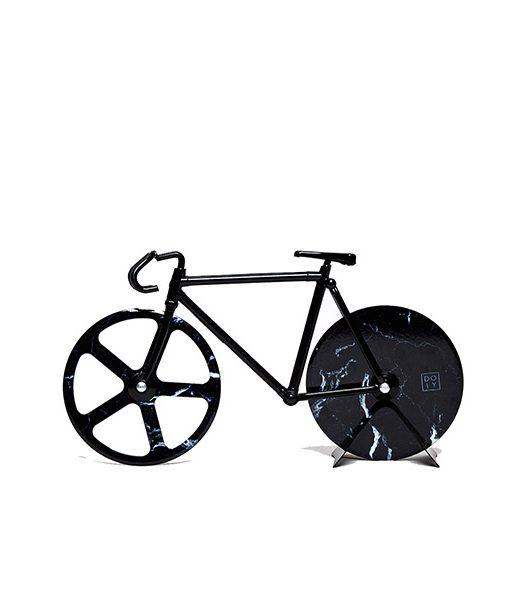 Cortapizzas Bicicleta Fixie Marble Negra Comprar