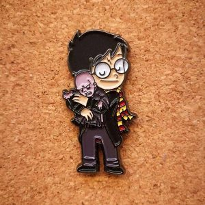 Pin Harry Potter y Voldemort