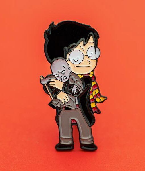 Pin Harry Potter y Voldemort