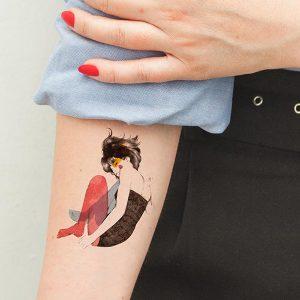 Tatuaje Muse de Conrad Roset