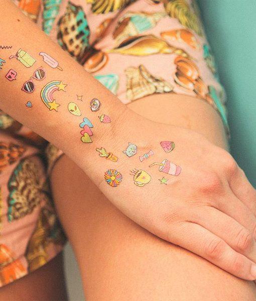 Tatuajes Motel Summer Colores