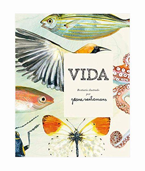 VIDA. Bestiario ilustrado por Joana Santamans