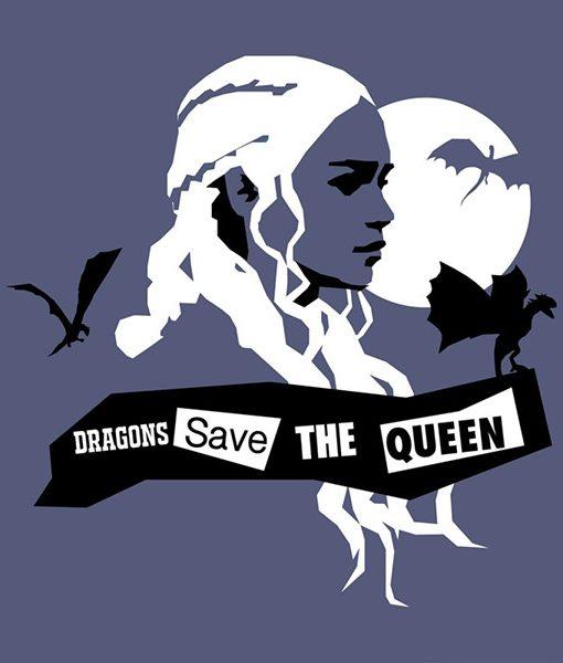 Camiseta Daenerys y Dragones