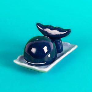 Set Sal y Pimienta Ballena | Salero y Pimentero Whale | Ballena Azul