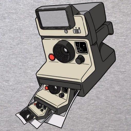 Polaroid instantánea en foto Polaroid