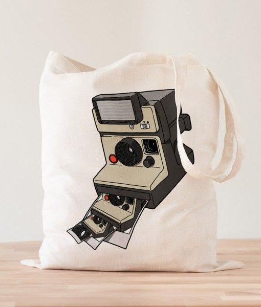 Tote bag Polaroid Snapshot