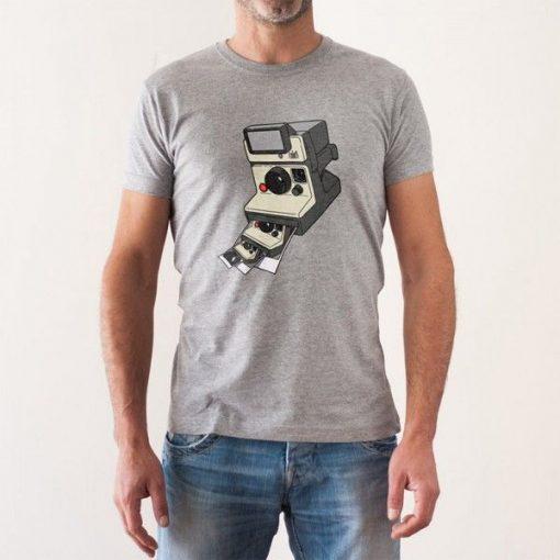Camiseta Polaroid snapshot