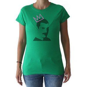Camiseta Freddy Mercury Mujer
