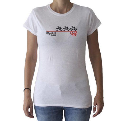 Camiseta Stranger Things Mujer