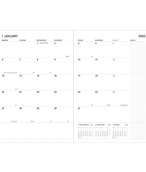 Agenda con funda 2019-2020 (16 meses)