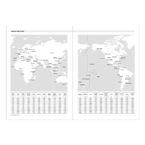 Agenda con funda 2019-2020 (16 meses) Husos Horarios