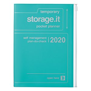 Agenda 2019-2020 Turquesa Storage It A5 (16 meses)