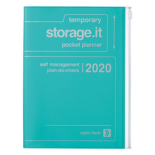 Agenda 2019-2020 Turquesa Storage It A5 (16 meses)