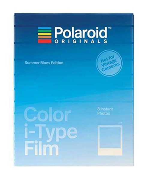 Película Polaroid Originals i-Type Summer Blues Edition