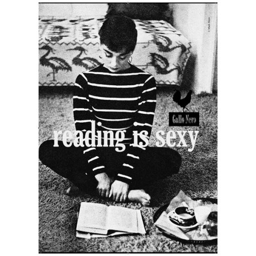 Póster Reading is Sexy Audrey Hepburn