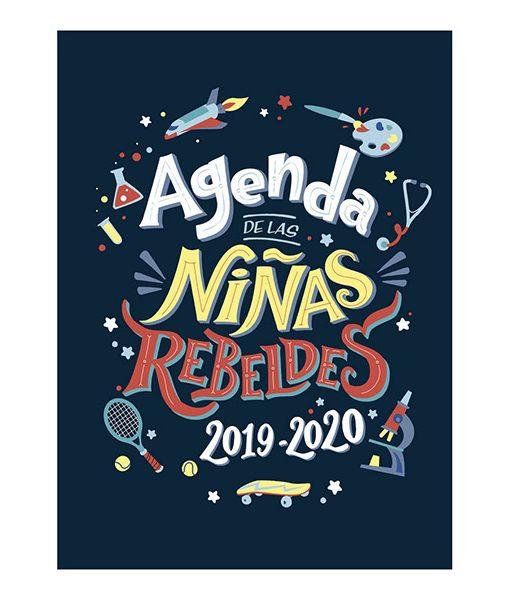 Agenda escolar de las niñas rebeldes 2019-2020