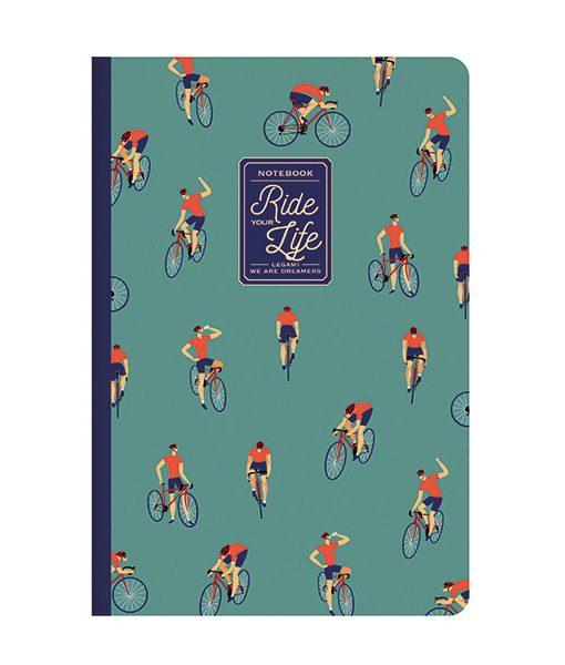 Cuaderno Bikes Lover PAPEL FSC