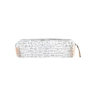 Estuche My pencil Case Genius | Estuche Transparente Matemáticas