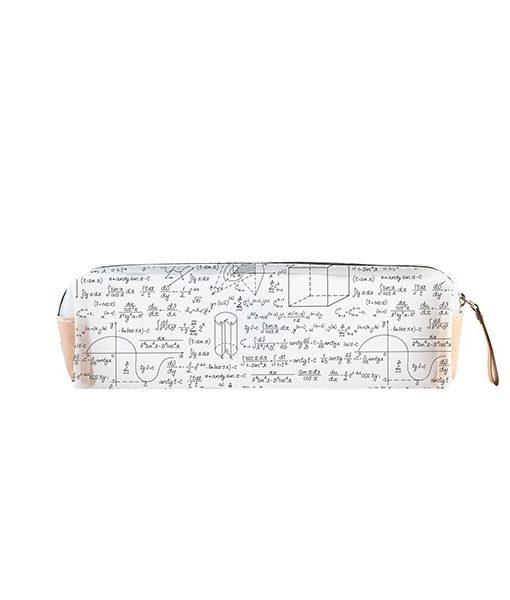 Estuche My pencil Case Genius | Estuche Transparente Matemáticas