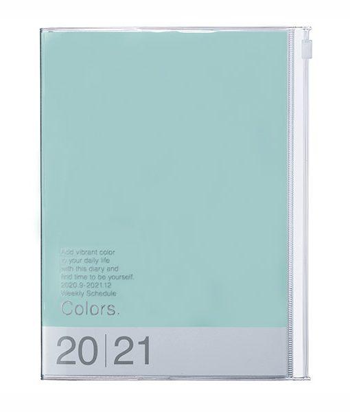 Agenda 2020-2021 Menta Turquesa Colors A5 (16 meses)