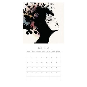 Calendario de Pared Conrad Roset 2021 ENERO