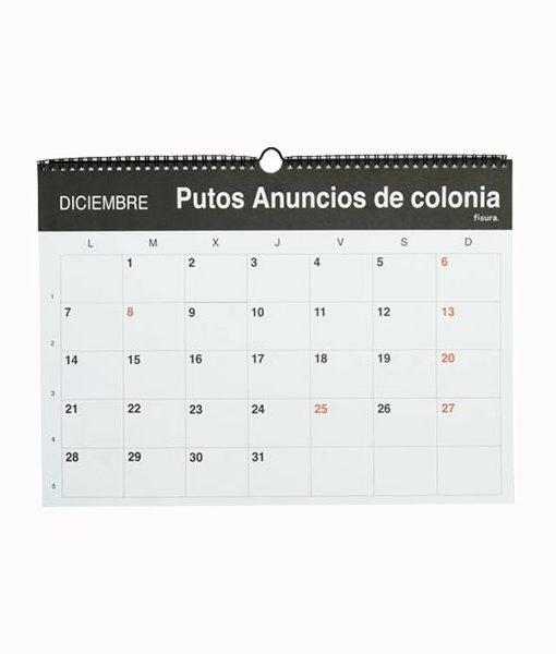 Calendario Puto 2020