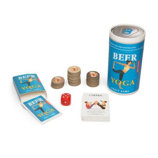 Beer Yoga Juego de hacer yoga y beber cerveza