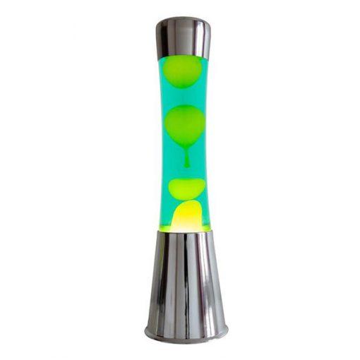 Lámpara de Lava Verde y Amarilla
