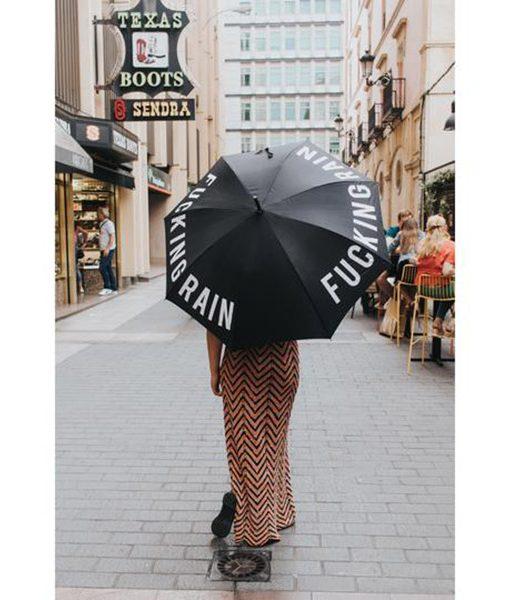 Paraguas Fucking Rain Apertura Automática