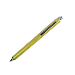 Bolígrafo Tinta Gel Aluminio Ohto Horizon Amarillo | Ballpoint 0.7 mm