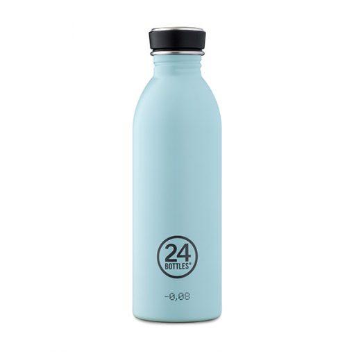 Botella Azul Cielo 24Bottles   Acero Inoxidable   Ligera y Reutilizable