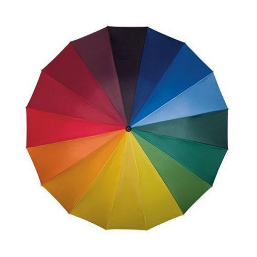 Paraguas Rainbow Gigante Apertura Automática