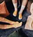 Dos Pares de Calcetines Ramen originales y divertidos