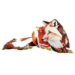 Tote Bag Fox Acuarelas