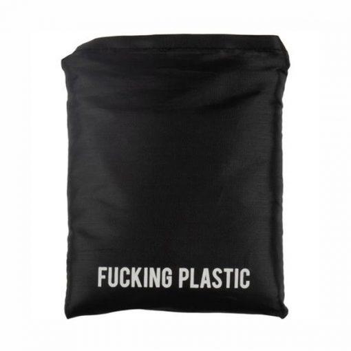 Bolsa Fucking Plastic Reutilizable | Bolsa de Compra Eco | Granada