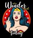 Camiseta Wonder Woman Mood Mujer