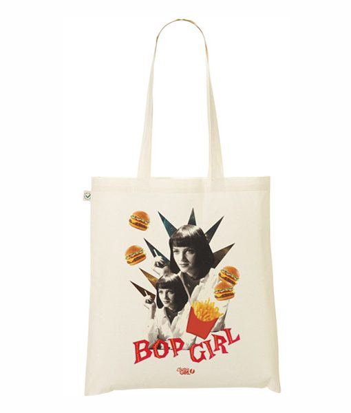 Tote Bag Mia Wallace Pulp Fiction