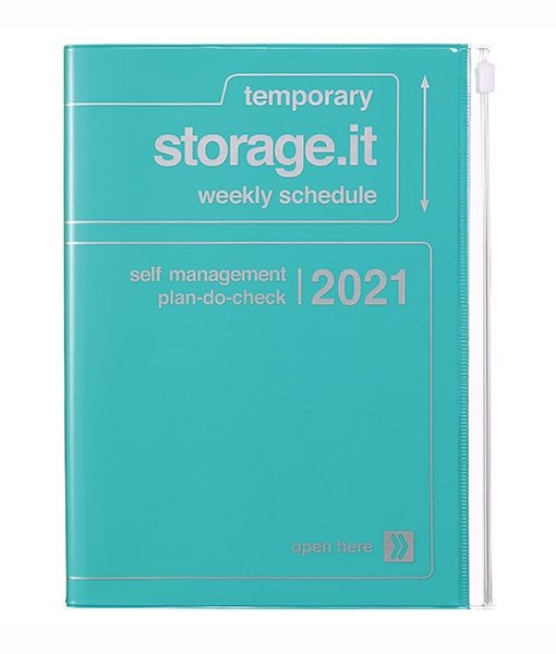 Agenda Storage It Turquesa 2020-2021 A5 (16 meses)