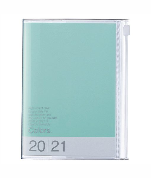 Agenda Mini 2020-2021 Menta Colors A6 (16 meses)
