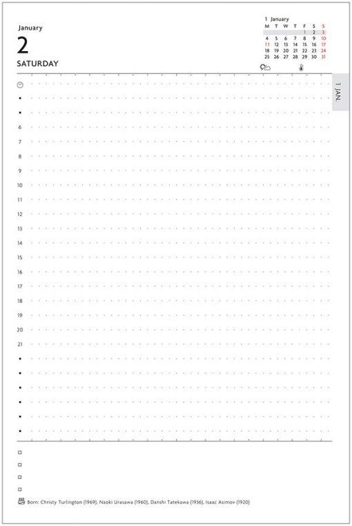 Agenda 2021 Día por Página