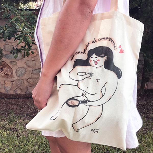 Tote Bag Encantada de Conocerme de Paloma Pérez