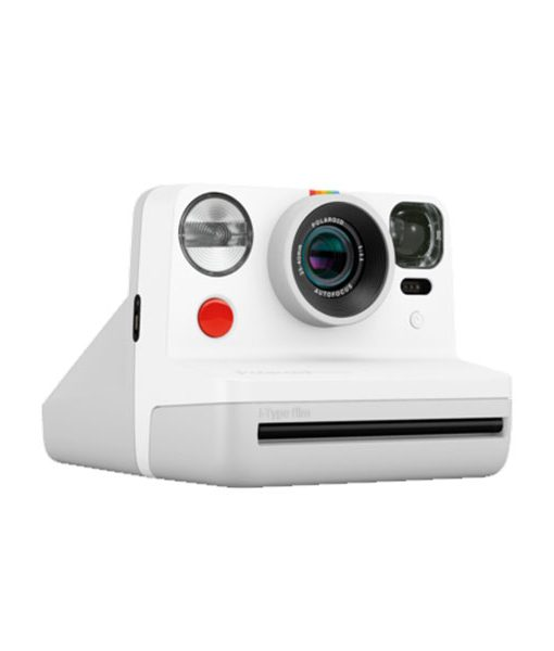 Cámara Polaroid Now Blanca