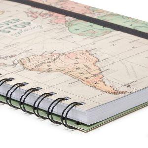 Cuaderno Espiral Travel Hojas Rayadas