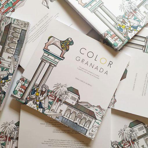 COLOR GRANADA - Una Guía para colorear la ciudad