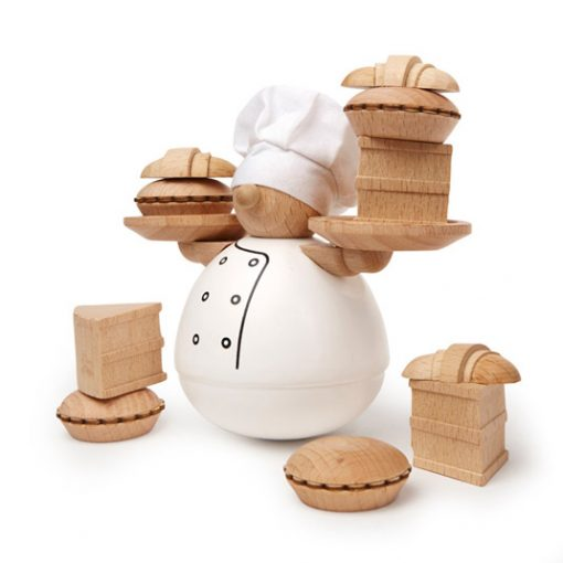 El pastelero equilibrista