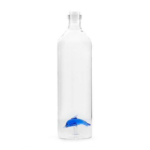 Botella Delfín de Borosilicato