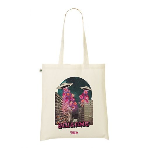 Tote Bag Battle of the Flowers